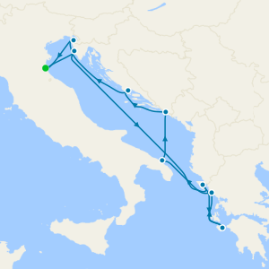 Adriatic Gems & Greece - Venice Roundtrip