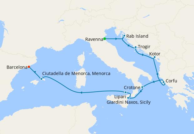 Adriatic Gems & Italy from Venice