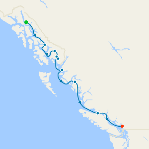 Alaska Fjords & Canadian Inside Passage from Juneau