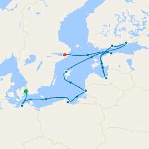 Germany, Russia & Poland from Copenhagen