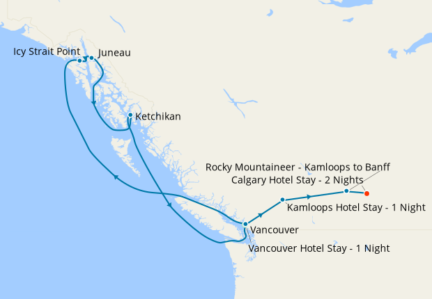 Vancouver  Hotel Stay - 1 Nights