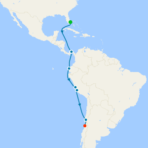 Panama Canal & Inca Discovery from Ft. Lauderdale