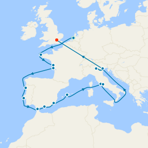 No Fly - European Rivers from Rotterdam to Rome + Lake Garda & The Venice Simplon-Orient-Express