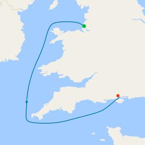 Liverpool to Southampton