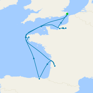 French Rivers & Bordeaux from Dover