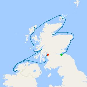 Cruising Scotland's Highlands & Islands from Edinburgh