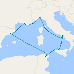 Italy, Greece, Montenegro & Croatia from Trieste