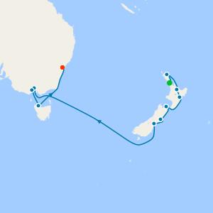Kiwi & Aussie Explorer from Auckland