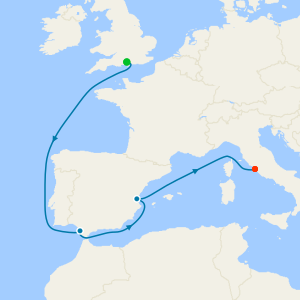 No-Fly Venice Simplon-Orient-Express, Lake Garda & Western Mediterranean from Southampton