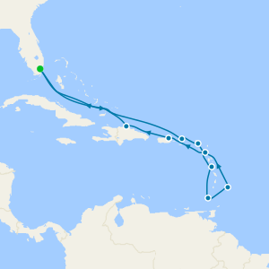 Alluring Caribbean - Miami Roundtrip