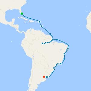 Seas, Shores & Amazon from Miami