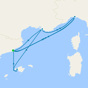 Canary Islands & Mediterranean from Malaga