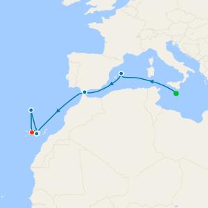 Canary Islands from Malta