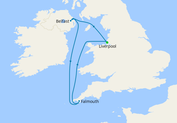 Touring Scenic Britain from Liverpool