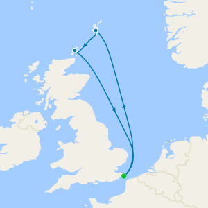 Touring Scenic Orkneys & Shetlands from Dover