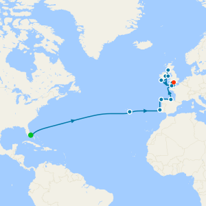 British Isles Grand Adventure from Ft. Lauderdale to Southampton