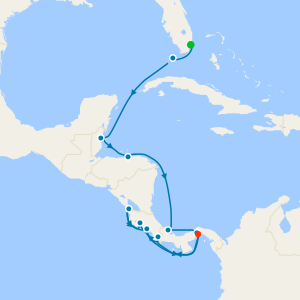 Panama Canal Quest from Miami