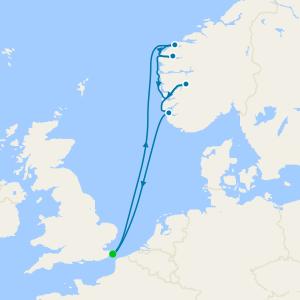 Norwegian Fjords from Dover