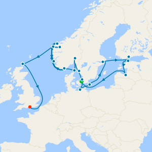 Baltic & North Sea Gems from Copenhagen