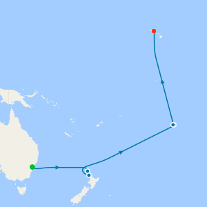 Transpacific from Sydney to Honolulu