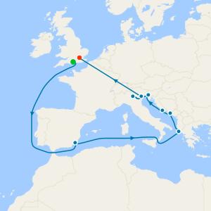 No-Fly Venice Simplon-Orient-Express & Lake Garda, Croatia, Greece & Spain