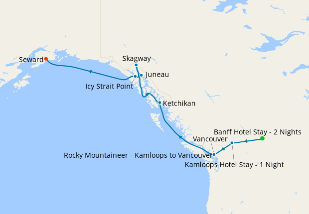 Summer in Skagway with Rocky Mountaineer
