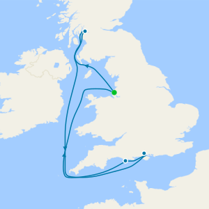 7 Nt All Inclusive British Isles Cruise from Liverpool