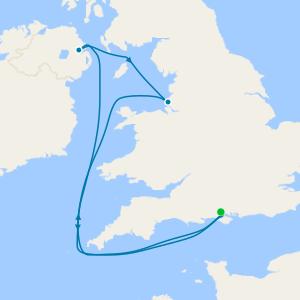 7 Nt British Isles Family Summer Holiday from Southampton