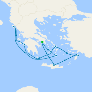 Greek Isles from Athens