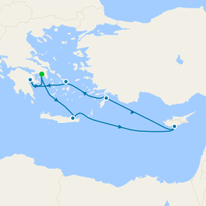 Heart of the Aegean - Athens Roundtrip