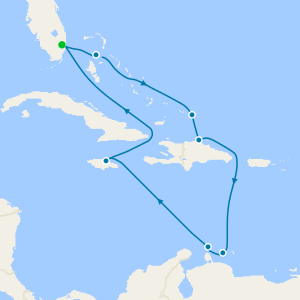 Southern Caribbean Seafarer from Ft. Lauderdale