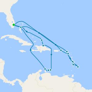 Southern Caribbean Seafarer & Wayfarer Ft. Lauderdale