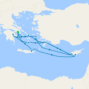 Wonders of the Aegean - Athens Roundtrip
