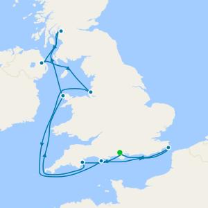All Inclusive Sail the Irish Sea from Southampton
