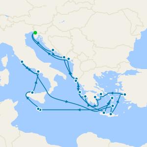 Adriatic Dream & Greek Odyssey from Venice