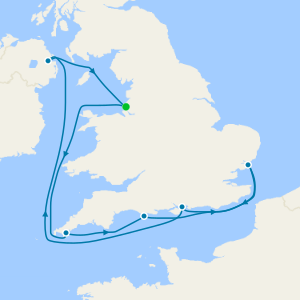 Touring Scenic British Isles from Liverpool