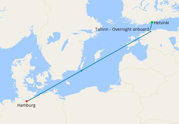 Italy, France & Spain from Genoa