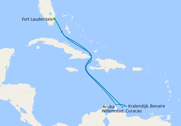 Southern Caribbean with ABC Islands from Ft. Lauderdale