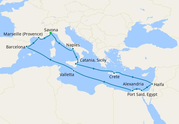 Ultimate Mediterranean from Savona
