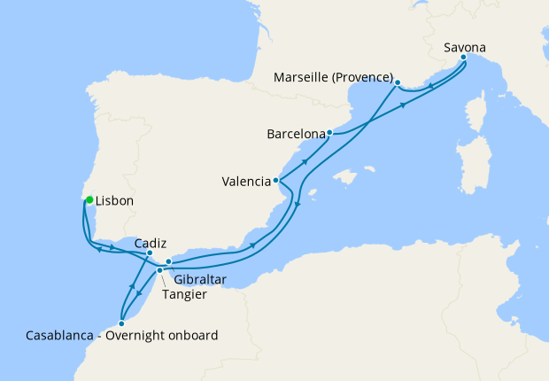 Ultimate Mediterranean from Lisbon