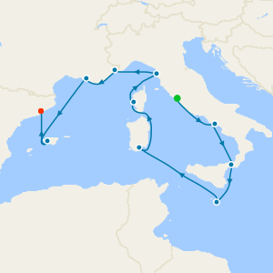 Mediterranean Discovery from Rome