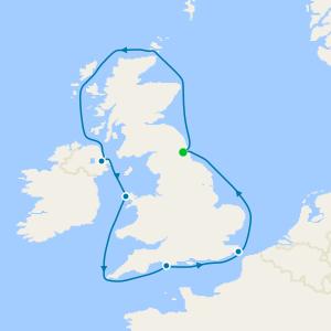 All Inclusive Celtic Explorer from Newcastle