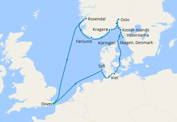 No-Fly Southern Scandinavia - Archipelagos, Fjords & Quaint Fishing Towns