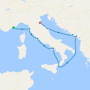 Maiden & Christening Voyage from Monte Carlo