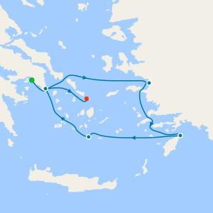 4nt Idyllic Aegean from Athens