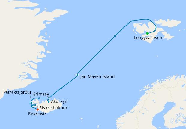 Spitsbergen, Jan Mayen, Iceland – Arctic Islands Discovery
