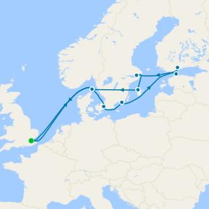 Baltic Treasures & St. Petersburg from Tilbury