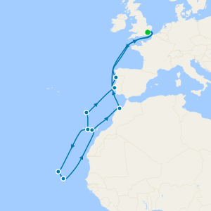 Cape Verde, Canaries & Morocco fr Tilbury with Supercrafts!