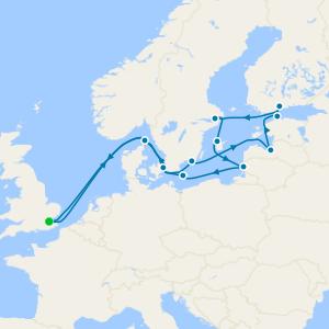 Hidden Baltic Treasures & St. Petersburg from Tilbury