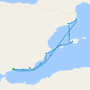 Continental Coasts from Malaga